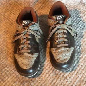 Nike Dunk Low ID Brown Gray Men's Size 9 US